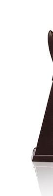 angeschnittenes bild mit abgesetztem logo st. in 75% dunkler schokolade mit weißem hintergrund
